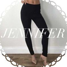• Reserved • for Jennifer • Black Trouser Leggings (M) • Classic White Blouse (M) Other