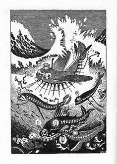 wwni:    Tove Jansson, The Exploits of Moominpappa, 1952