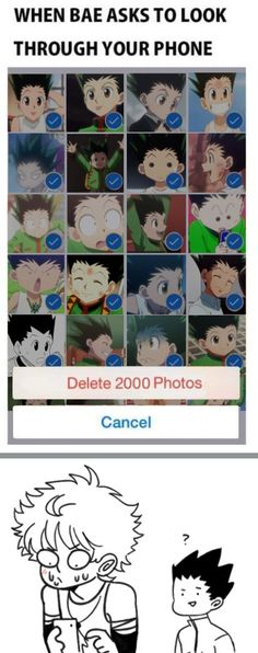 Killugon Hunter x Hunter (don't worry Killua that's how mine looks like too)