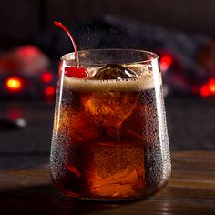 """Meet the one devil you'll want to know. Simple bourbon cocktails don't get much tastier than this devilish concoction. While it gets its name from the """"Devil's Cut"""" of whiskey trapped inside the barrel, this Jim Beam® Bourbon and Cola combination tastes like heaven."""