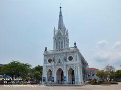 Thailand here ทริปตามใจ ไปตามทาง: อาสนวิหารแม่พระบังเกิด บางนกแขวก สมุทรสงคราม Nativ...