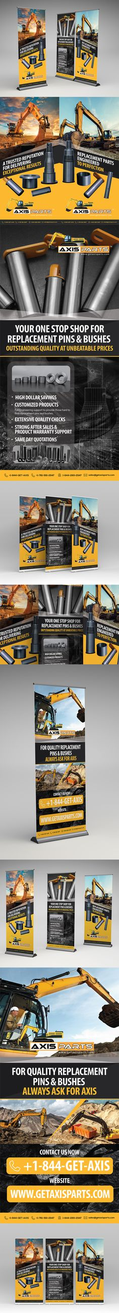 Construction Equipment Banners Sale Item Banners
