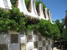 The Garden Wanderer Antoni Gaudi, Architectural Elements, Natural Living, Natural World, New Art, Layout Design, Wander, Paths