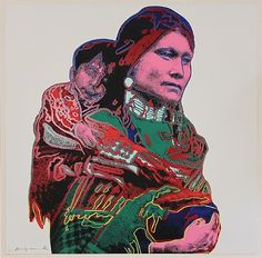 Andy Warhol: Mother and Child (from Cowboys and Indians)