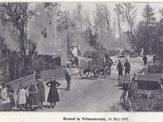Vriezenveen had in 1905 een hele grote brand,waarbij een heel groot gedeelte van het dorp in vlammen is op gegaan.