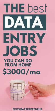 10 Data Entry Jobs To Make Money From Home At Your Own Schedule - Data entry jobs are a great option for those who want to make easy money from home. To qualify, you - Legit Work From Home, Legitimate Work From Home, Work From Home Tips, Work From Home Companies, Earn Money From Home, Earn Money Online, Online Jobs, Money Fast, Affiliate Marketing