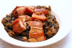 Salted vegetables with pork