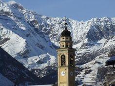 Bellissimo campanile di Caspoggio
