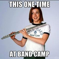This One Time At Band Camp...Alyson does it again..more great humour. just love her style...