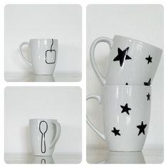 Le jardin de Juliette: DIY mugs especially the tea bag one. so cute.