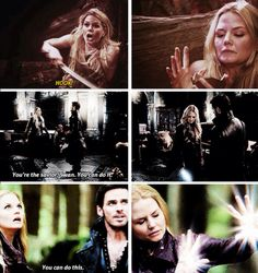 Emma does some of her best magic when Hook is the one who needs it, am I the only one who noticed that?