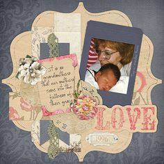 "CT Kim's layout using ""A Mother's Love"" by Snips and Snails available at ScrapMatters: http://www.shop.scrapmatters.com/snips-and-snails-designs/"