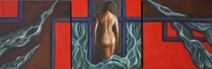 Le trame delle bugie - Trittico - Olio su tela - 3 tele 30x30 Painting, Art, Art Background, Painting Art, Kunst, Paintings, Performing Arts, Painted Canvas, Drawings