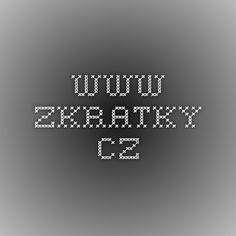 www.zkratky.cz