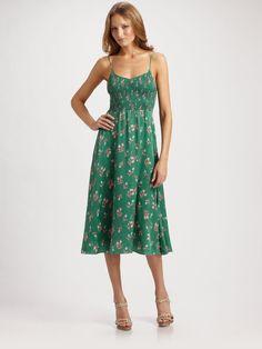 Rebecca Taylor Nouveau Ballet Dress in Green (jade)