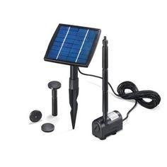 Kit pompe solaire vasque ou petit bassin Minusio