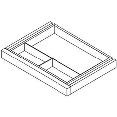 Napa Series Center Desk Drawer