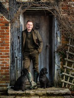 Chris Packham by Andrew Shaylor