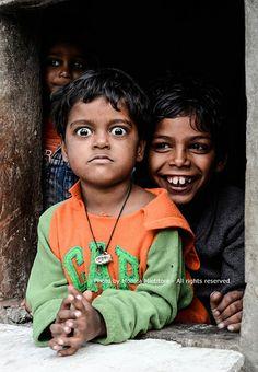 Children of the slum