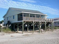 Edisto Realty - Tuckered Out - Beachfront - Edisto Island, SC