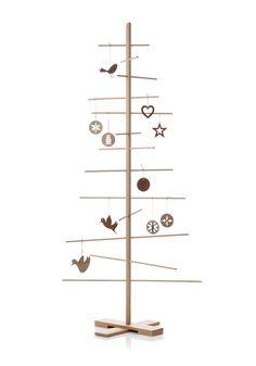 filigrantræ  165 cm natur