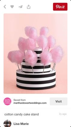 I Make Fairy Floss Cotton Candy Invite Me To Your Party