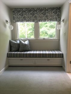 Master Bedroom Custom Window Seat
