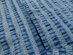 Yukata cloth Arimatsu (in Nagoya, my hometown)  shibori