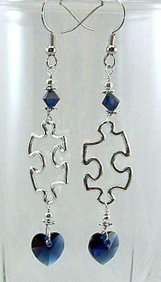 Autism Awareness Puzzle Jewelry