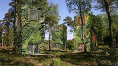 OAS1S: Un concept d'habitations végétales et futuristes