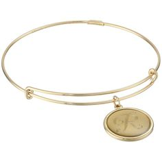 Alex and Ani Precious Initial R Charm Bangle Bracelet, Gold ($82) ❤ liked on Polyvore featuring jewelry, bracelets, gold, charm bangle, gold initial charms, bangle bracelet, gold bangles and initial charms