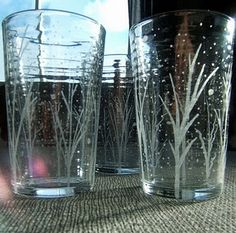 DIY: Glass Etching with a Dremel