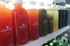 Juice at Clover Raw Cold Pressed Juice Bar. West Hollywood, CA. Photo by backyarbite.com