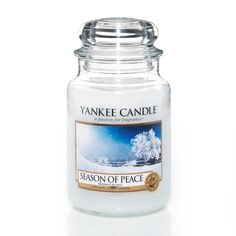 Yankee Candle Season Of Peace 22oz Large Jar - NEW For 2013!: Amazon.co.uk: Kitchen & Home