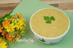 Receita: Patê de Frango FIT Ingredientes usados: * 500 gramas de filé de frango; * 1 colher de sopa de amido de milho; * 1 colher de sopa de cebola; * 1 colh...