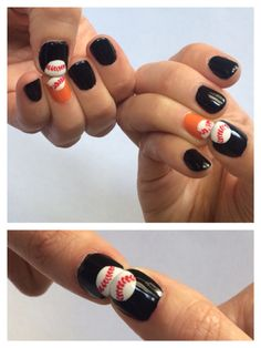SF Giants nails | Baby Health | Pinterest | Sf giants nails