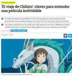 'El viaje de Chihiro' : claves para entender una película inolvidable / @eldiarioes   #nosólotécnicaBUPM