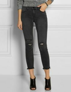 J BRAND 8226 Photo Ready cropped skinny jeans