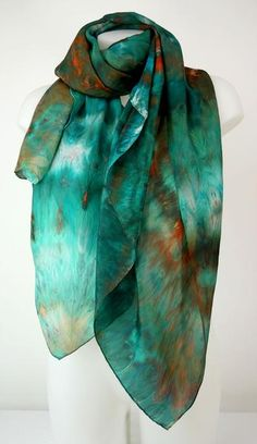 Cashmere Silk Scarf - LAGUNA CS by VIDA VIDA Emmq6f0Z
