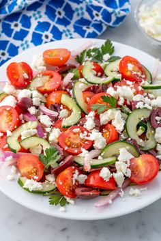 Greek Salad - Insanely Easy Weeknight Dinners To Try This Week