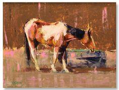 "Robert Spooner | ""Tango"" I Oil, 21 x 27"""