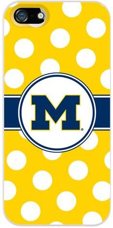 Show your Michigan Pride on the go with this adorable phone case!