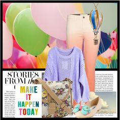 """Balloons"" by beautydesk on Polyvore"