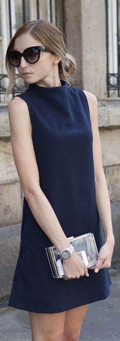 A-LINE DRESS: The flared shape will always flatter. Accessorise with boots in winter and sandals in summer.