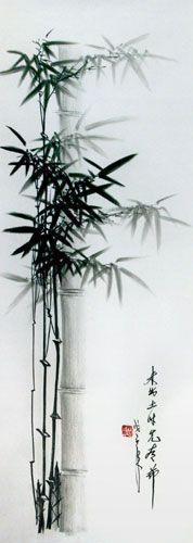 Bamboo+drawing | Charcoal Bamboo Drawing
