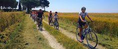 Festeggia i profumi della primavera e dell'autunno con un tour in mountain bike lungo la Costa degli Etruschi. Un'occasione per scoprire le strade inaspettate che si snodano tra i borghi medievali di Bolgheri, Casale Marittimo e Guardistallo fino a raggiungere l'area naturalistica della Magona.    Cosa
