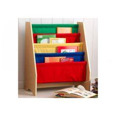 Kidraft 14226 boekenrek primaire kleuren - Bandolino.nl