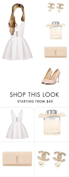 """Untitled #282"" by littlemiss104 ❤ liked on Polyvore featuring Chloé, Yves Saint Laurent and Chanel"