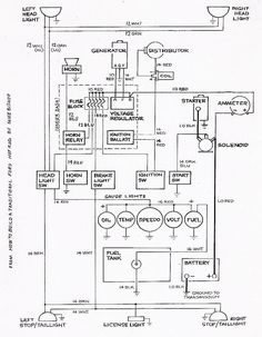 ELECTRIC L6 Engine Wiring Diagram Chevy 6 GMC Trucks