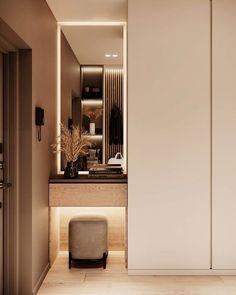 Wardrobe Room, Wardrobe Design Bedroom, Home Room Design, Home Interior Design, House Design, Fitted Bedrooms, Dressing Room Design, Hallway Designs, Hall Design